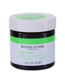 Revolution Skincare Angry Mood Overnight Soothing Maseczka do twarzy 50 ml