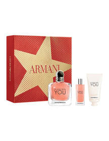 Giorgio Armani In Love With You woda perfumowana 100 ml + Edp 15 ml + Krem do rąk 50 ml