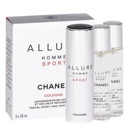 Chanel Allure Homme Sport Cologne Twist and Spray woda kolońska 3x20 ml