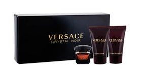 Versace Crystal Noir woda toaletowa 5 ml + 25ml Balsam + 25ml Żel pod prysznic