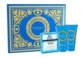 Versace Man Eau Fraiche woda toaletowa 50ml + 50ml Żel pod prysznic + 50ml Balsam po goleniu