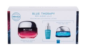 Biotherm Blue Therapy Red Algae Uplift Krem na dzień 50 ml + Krem pod oczy 15 ml + Serum do twarzy Life Plankton 7 ml