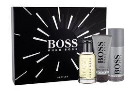 HUGO BOSS Boss Bottled woda toaletowa 100 ml + Żel pod prysznic 100 ml + Dezodorant 150 ml