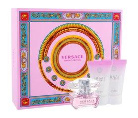 Versace Bright Crystal woda toaletowa 50 ml + 50ml Balsam + 50ml Żel pod prysznic