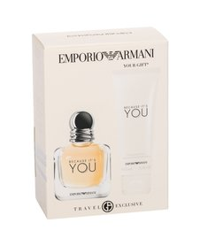 Giorgio Armani Emporio Armani Because It´s You woda perfumowana 50 ml + Mleczko do ciała 75 ml