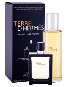Hermes Terre d´Hermes Perfumy 30ml z możliwością napełnienia + 125ml perfumy – wkład