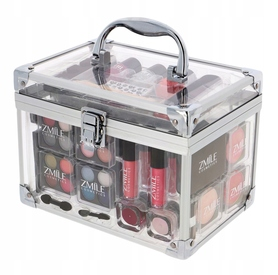 Makeup Trading Schmink Set Transparent Kuferek 76,6 g