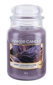 Yankee Candle Dried Lavender & Oak Świeczka zapachowa 623 g