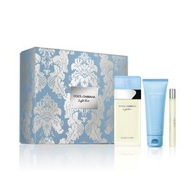 Dolce&Gabbana Light Blue woda toaletowa 100 ml + 75 ml Krem do ciała + 7.5 ml edt