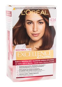 L´Oréal Paris Excellence Creme Triple Protection Farba do włosów Odcień 4,54 Natural Dark Copper Mahogany 48 ml