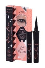 Benefit Cosmetics Roller Liner Mini Idealnie matowy eyeliner w płynie Odcień Black 0,5 ml