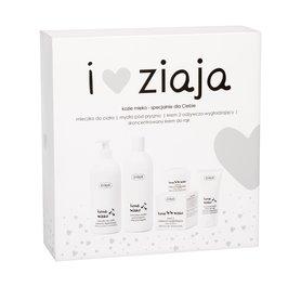 Ziaja Goat´s Milk Zestaw Kremowe mydło pod prysznic 500 ml + Mleczko do ciała 400 ml + Krem na dzień 50 ml + Krem do rąk 50 ml