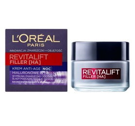 L'oreal Revitalift Filler HA Krem na noc 50 ml