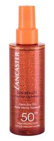 Lancaster Sun Beauty SPF50 Olejek do opalania ciała 150 ml