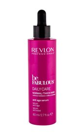 Revlon Professional Be Fabulous Anti Age Serum Daily Care Normal/Thick Hair Serum do włosów 80 ml