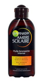 Garnier Ambre Solaire SPF2 Huile Bronzante Intense Olejek do opalania ciała 200 ml