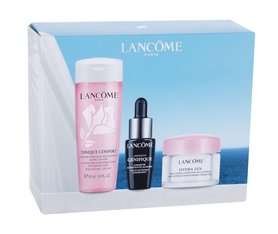 Lancôme Summer of Reconnection Krem do twarzy na dzień 15 ml + Serum do twarzy Advanced Genifique 7 ml + Tonik Tonique Confort 50 ml