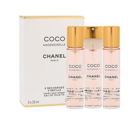 Chanel Coco Mademoiselle Napełnienie woda toaletowa 3 x 20 ml