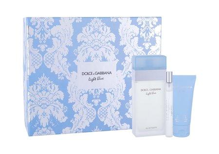 Dolce&Gabbana Light Blue woda toaletowa 100 ml + Krem do ciała 50 ml + Edt 10 ml (1)