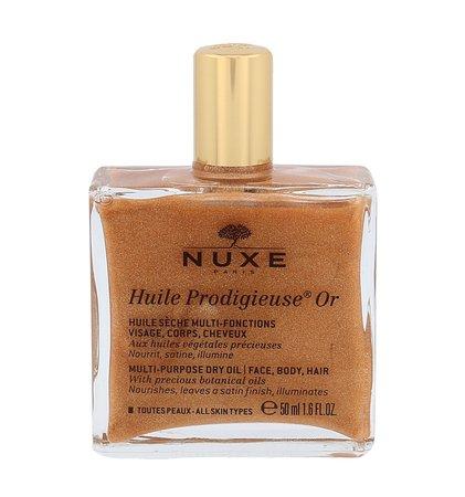NUXE Huile Prodigieuse Multi-Purpose Shimmering Dry Oil Or Olejek do ciała z drobinkami złota 50 ml (1)