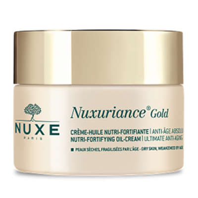 NUXE Nuxuriance Gold Nutri-Fortifying Oil-Cream Krem do twarzy na dzień 50 ml (1)