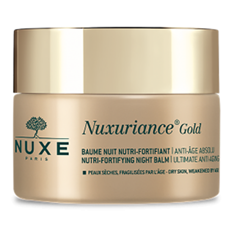 NUXE Nuxuriance Gold Nutri-Fortifying Night Balm Krem na noc 50 ml (1)