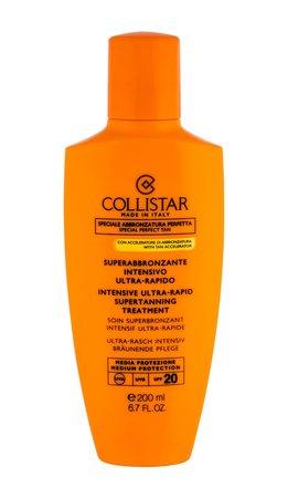 Collistar Special Perfect Tan SPF20 Mleczko do opalania ciała 200 ml  (1)